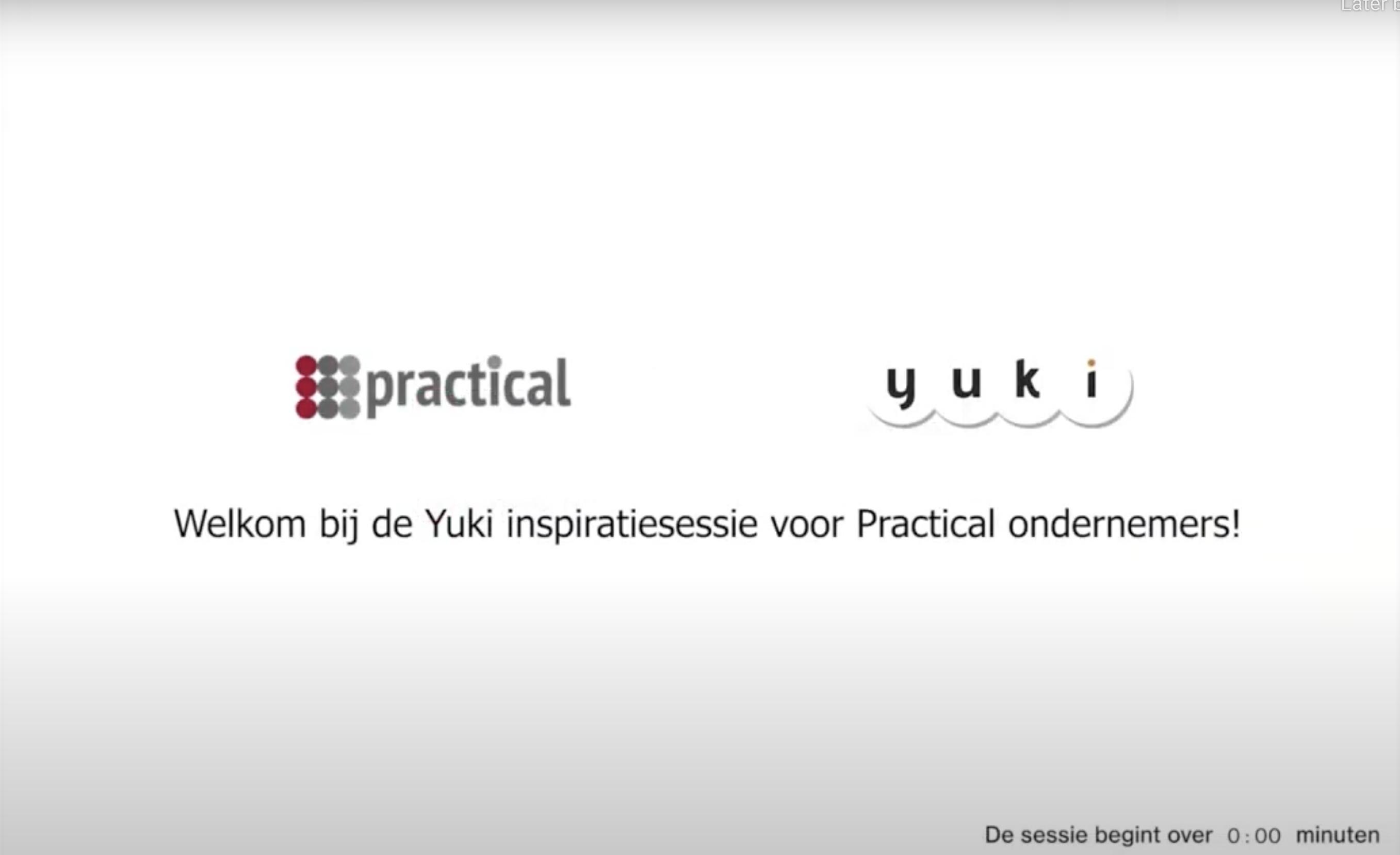 Meer inhoudelijk weten over wat Yuki kan? Bekijk het webinar!